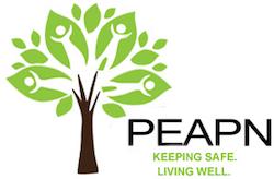 PEAPN Peel Elder Abuse Prevention Network logo green tree