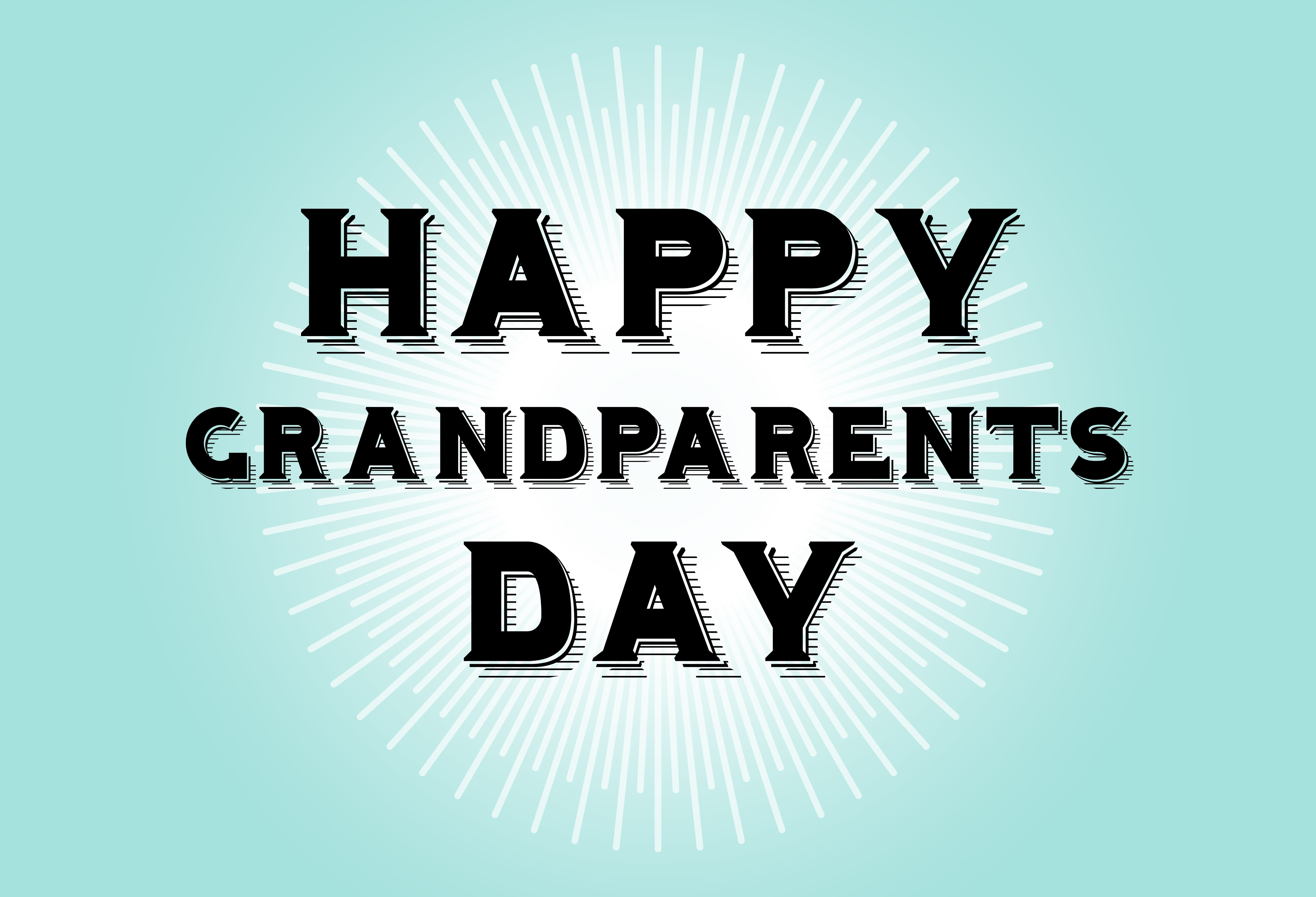 National Grandparents Day Is September