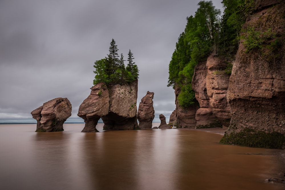 New Brunswick Hopewell Rocks