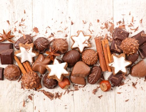 The Holidays are a Lot of Work but There's Good News. It Involves Chocolate.