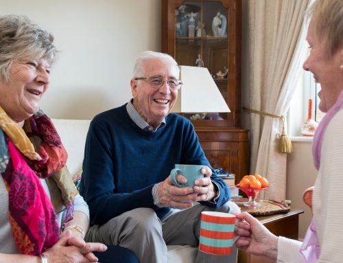 For Seniors, Friends Come with Healthy Benefits